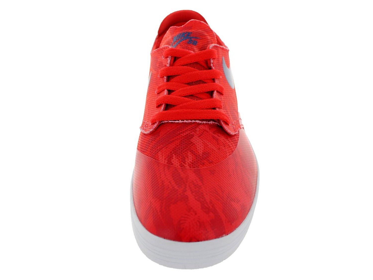 93065df1f45e Nike Men s Lunar Oneshot SB Skating Shoe-Lt Crimson Deep Royal-10 ...