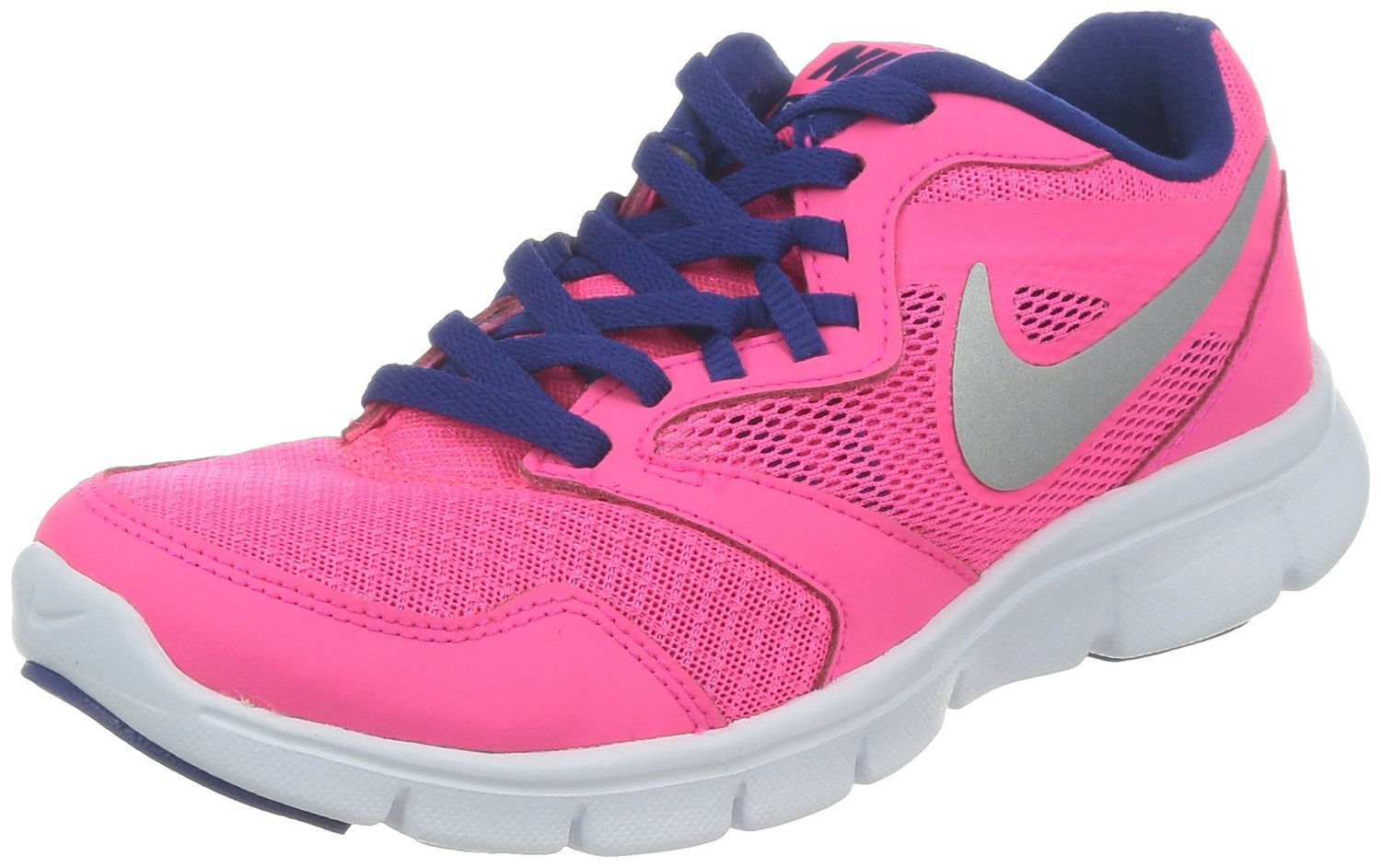 a3313789d5b1c Nike Girl s Flex Experience 3 Athletic Shoes-Hyper Pink Metallic ...