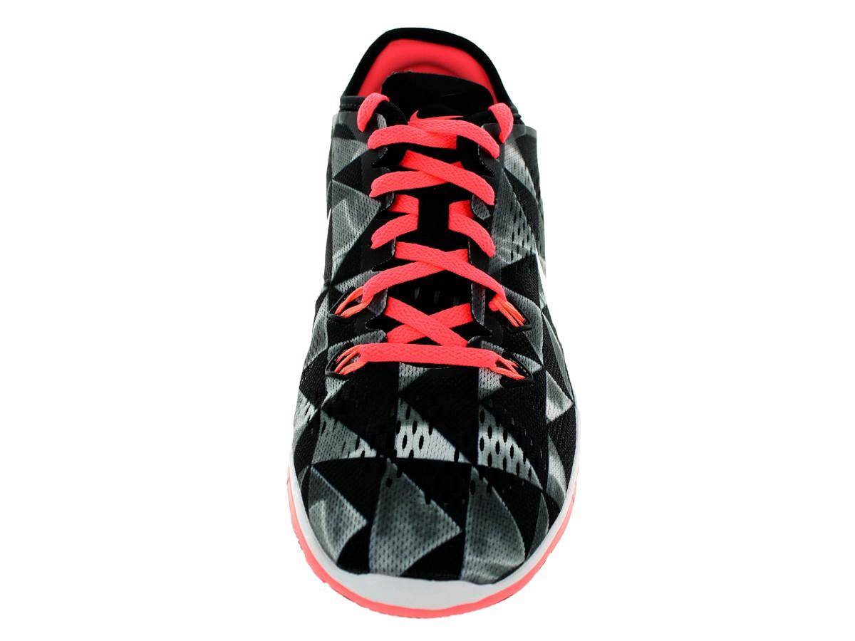 Nike Free 5.0 Tr Passe 5 Svart-hvitt Print Trenere Metodikk QgsDk