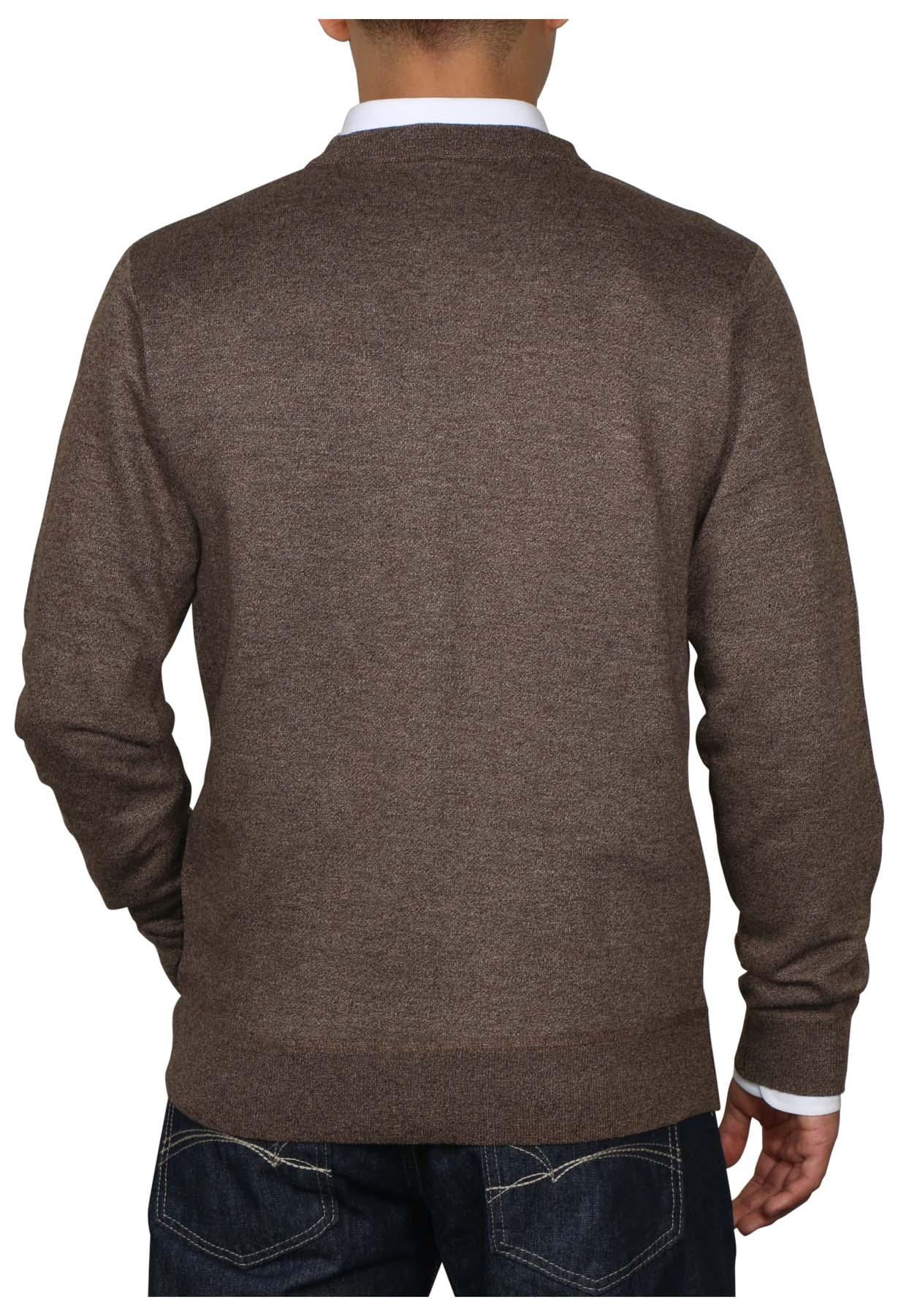True Rock Men's Lightweight Long Sleeve V-Neck Sweater | eBay