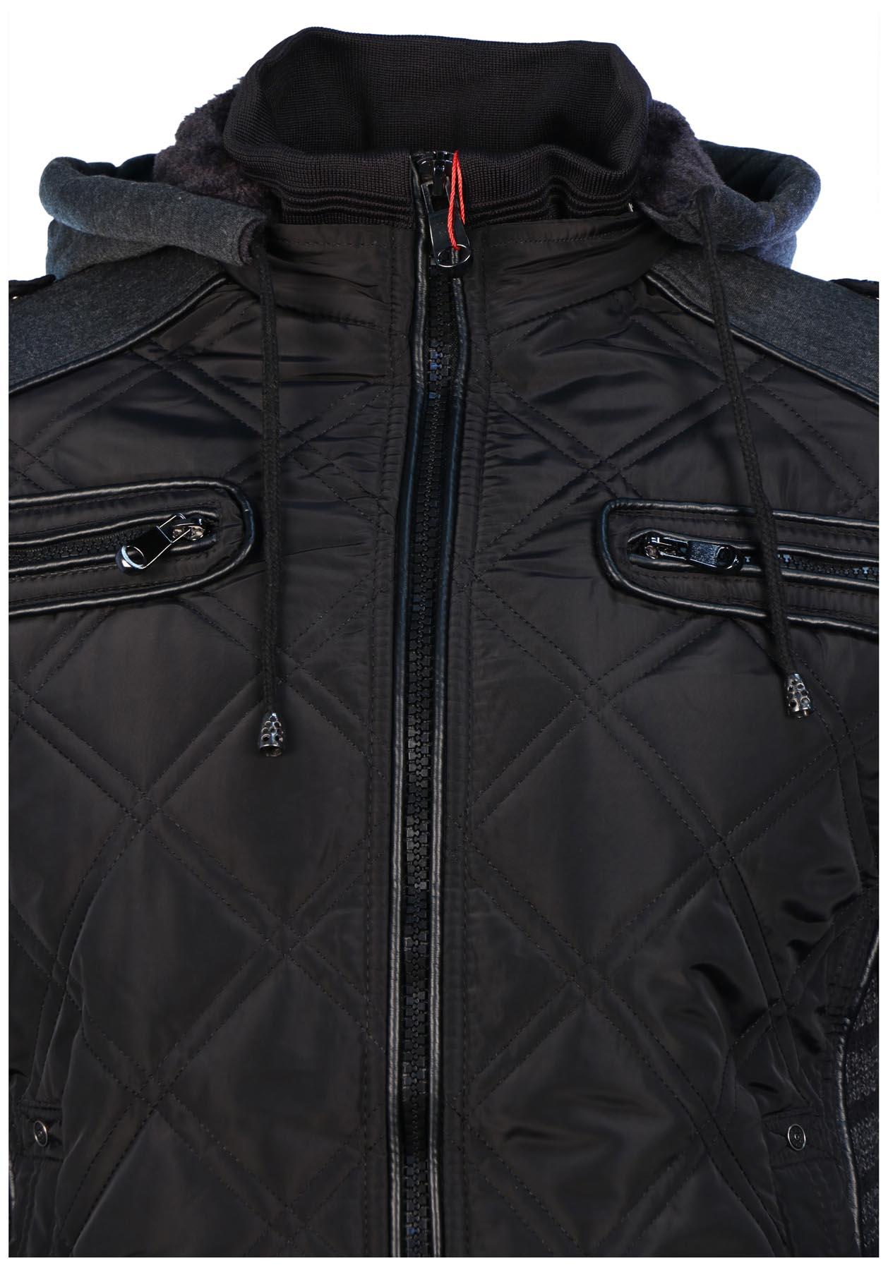 7a892836690f Maximos Men s Envy Hooded Full Zip Bomber Jacket