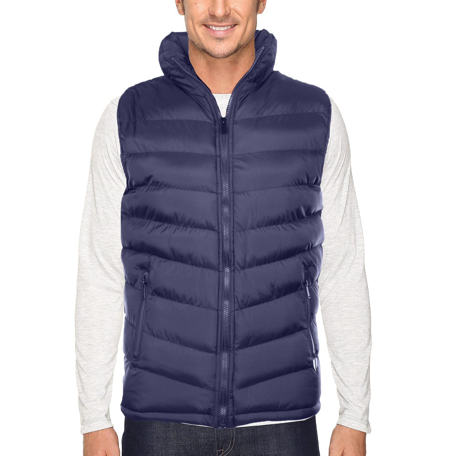 The SCOTTeVEST Puffer Jacket is a warm puffer jacket with the hidden SeV features of concealed pockets. Carry your gadgets with you, and maintain your style, while keeping warm outside.