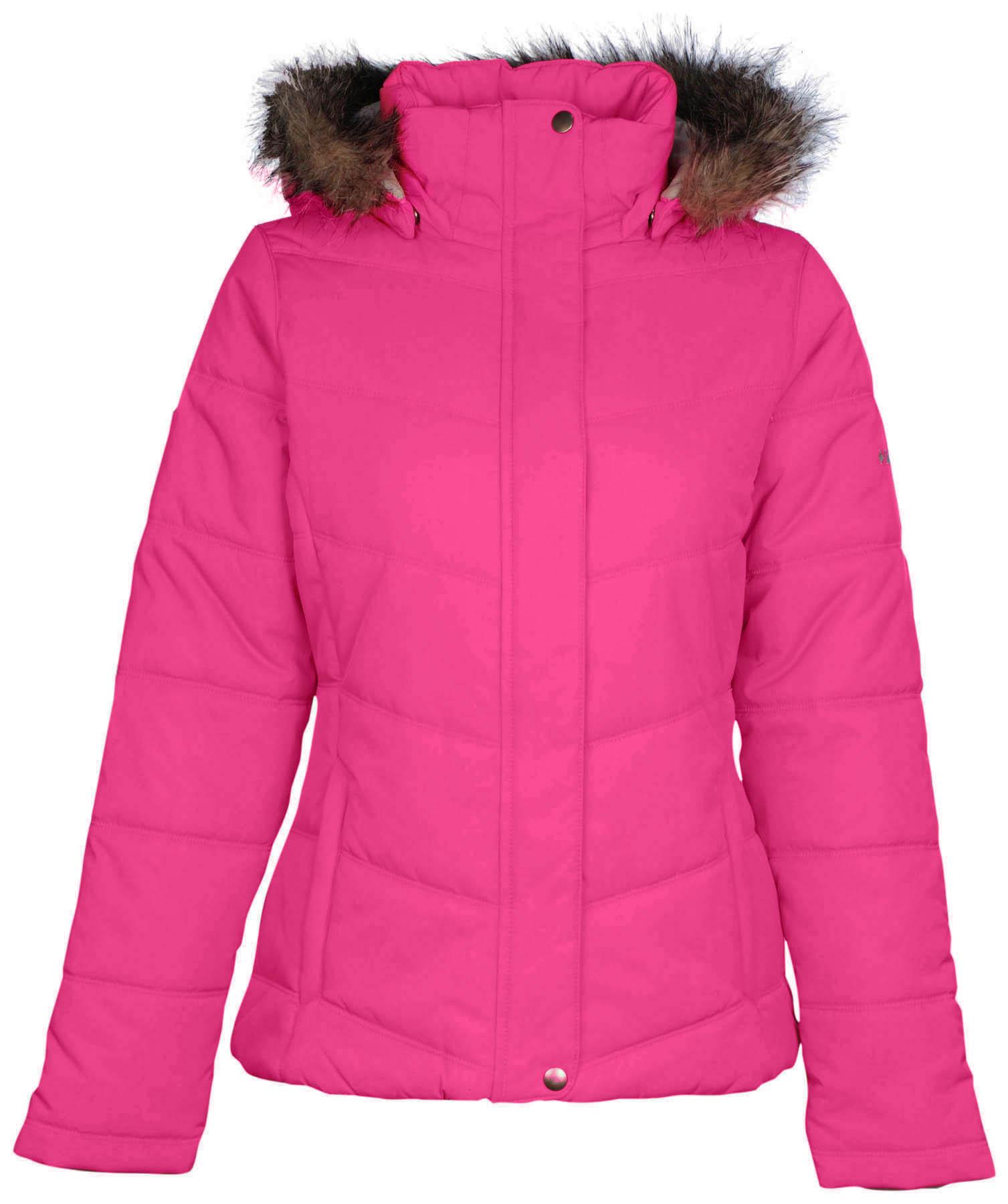 Columbia Women's Simply Snowy II Insulated Jacket XS Pink Ice | eBay