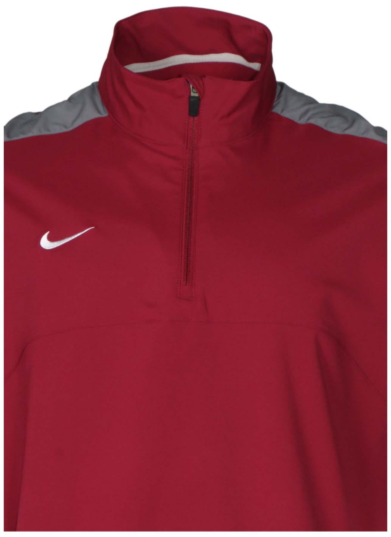 9fc4cf425608 Nike Men s Dri-Fit 1 4 Zip Short Sleeve Training Jacket