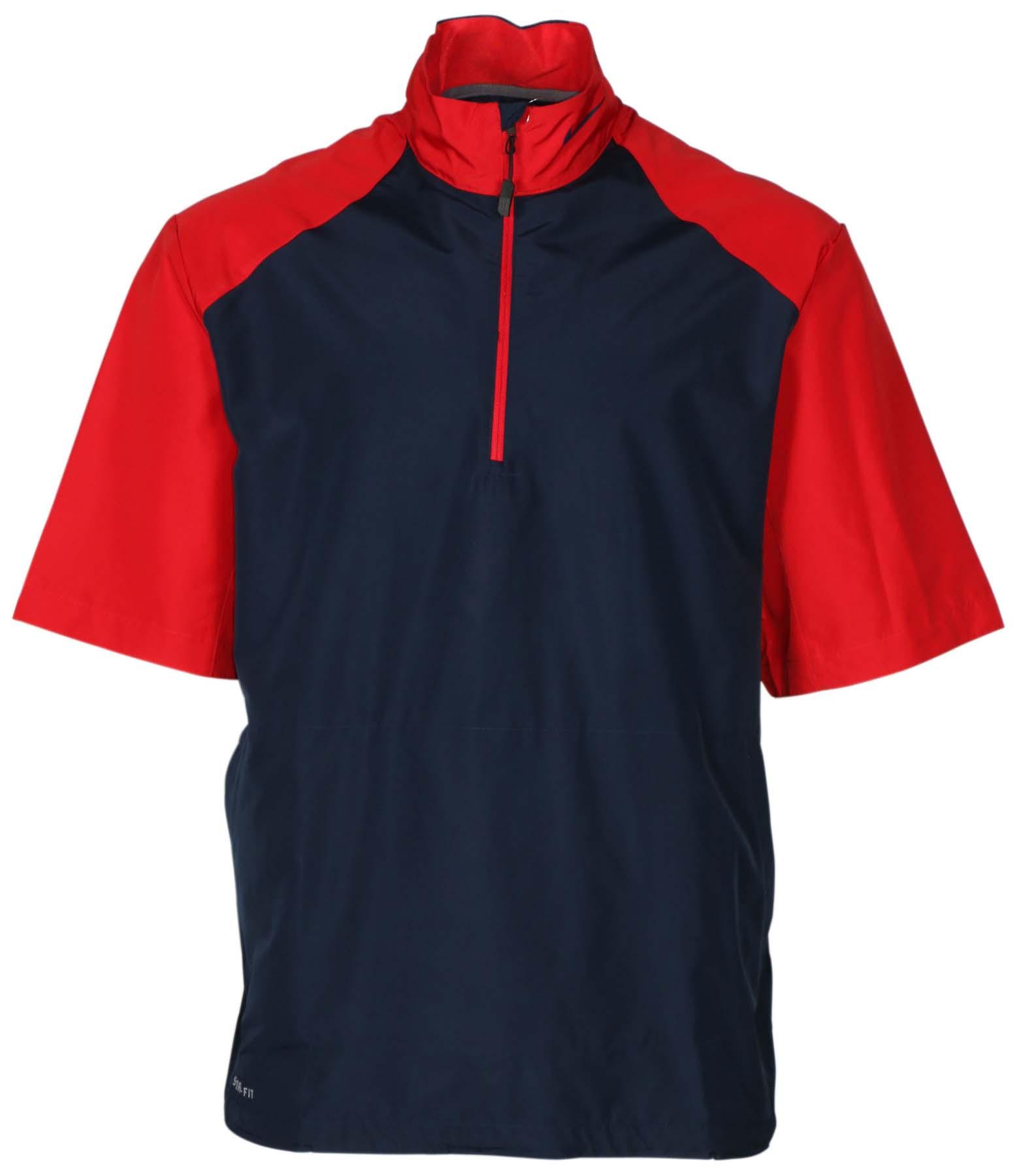 b7477abc3721 Nike Men s Storm Fit 1 2 Zip Short Sleeve Football Jacket