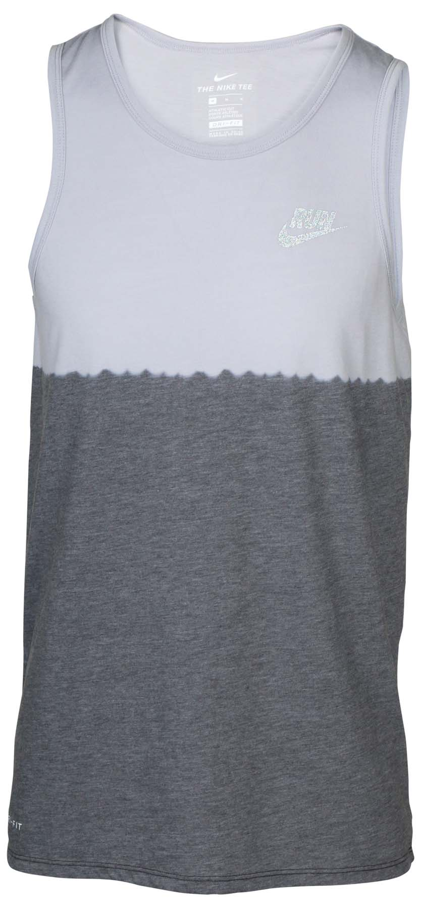 f7e15f23f7d1a Nike Men s DRI-FIT Dip Tie Dye correr Camiseta sin mangas
