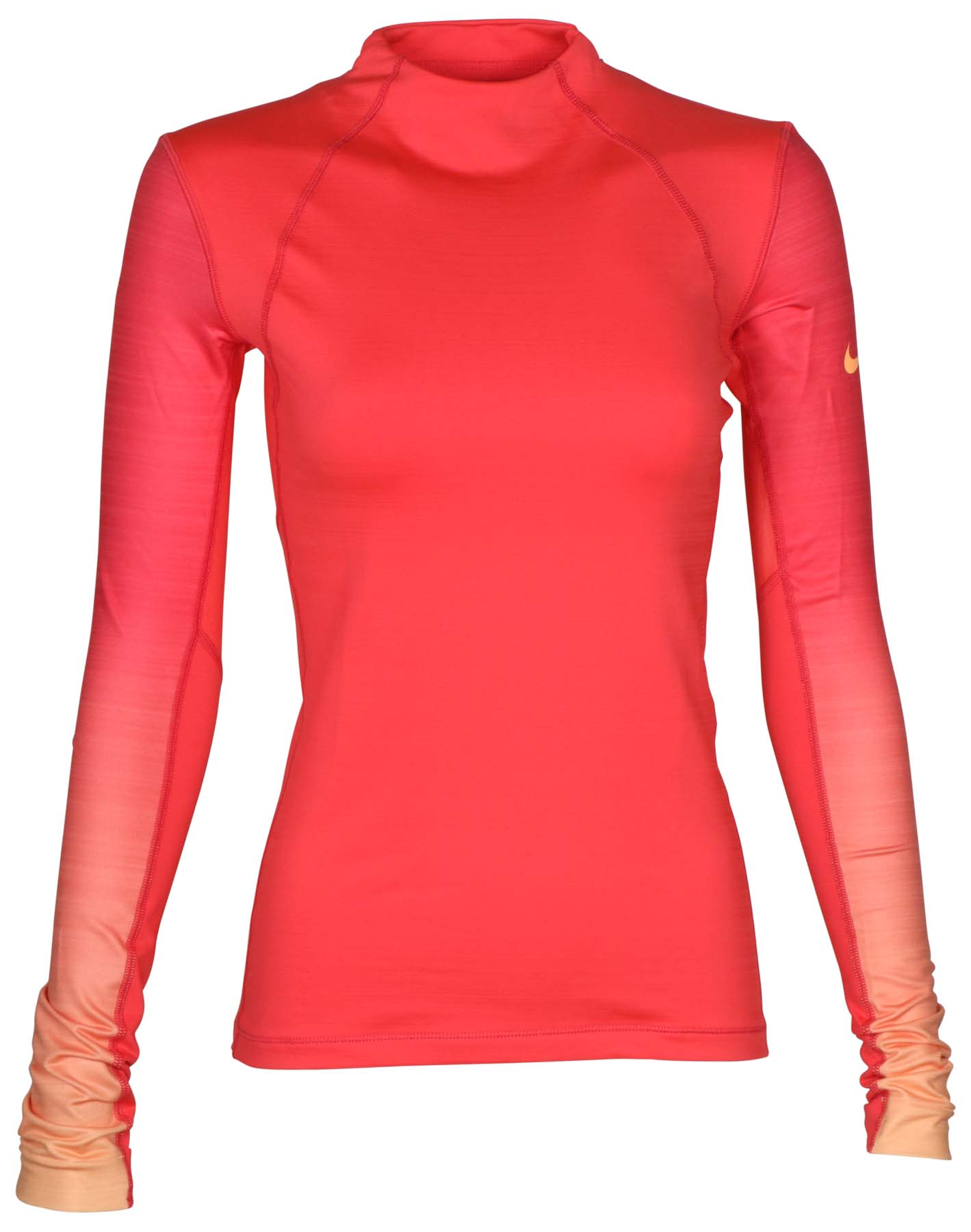 5682b6b935 Details about Nike Women s Pro Hyperwarm Long Sleeve Training Top-Coral-XL