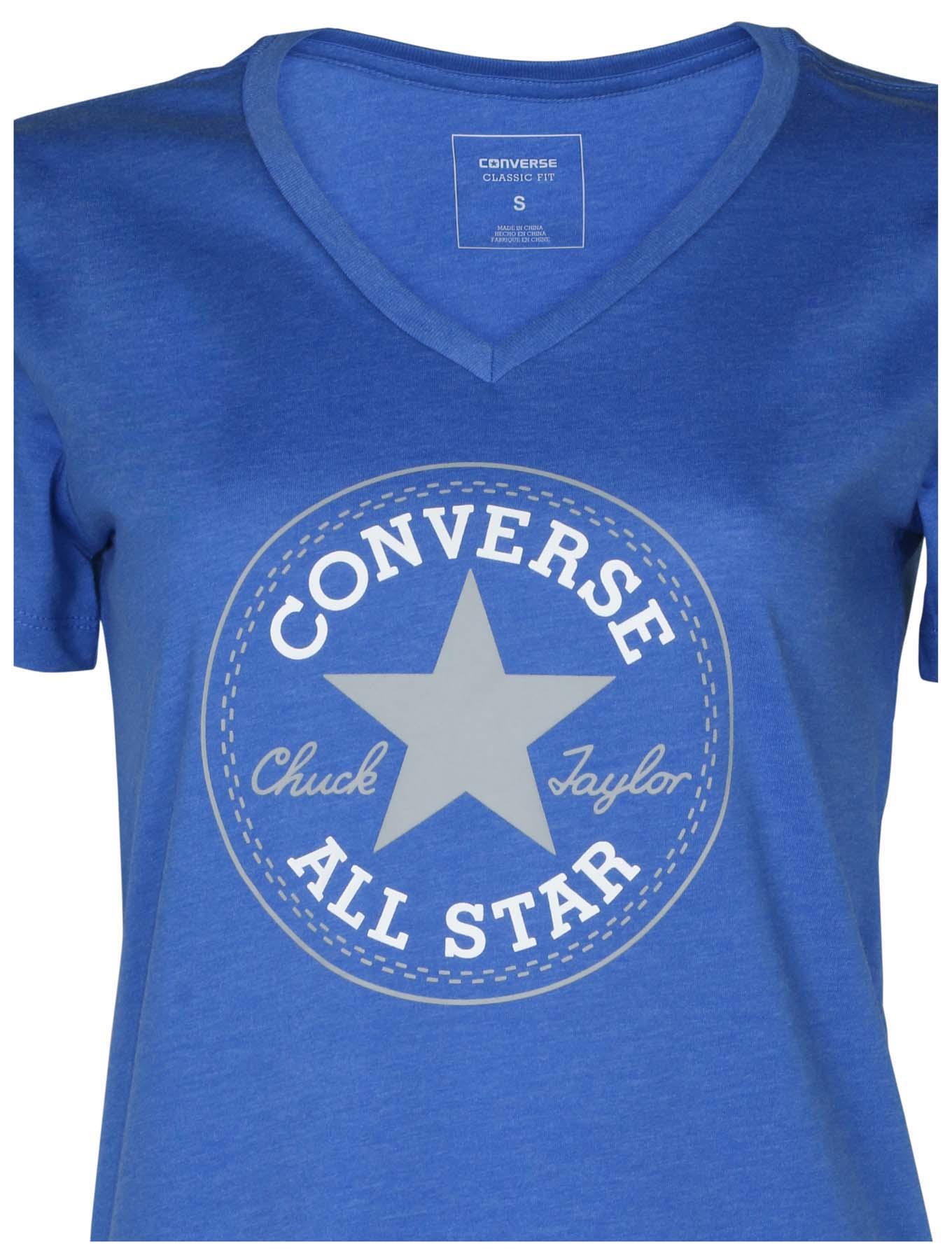 a50d277d81dd Converse Women s Chuck Taylor Core Patch V-Neck T-Shirt