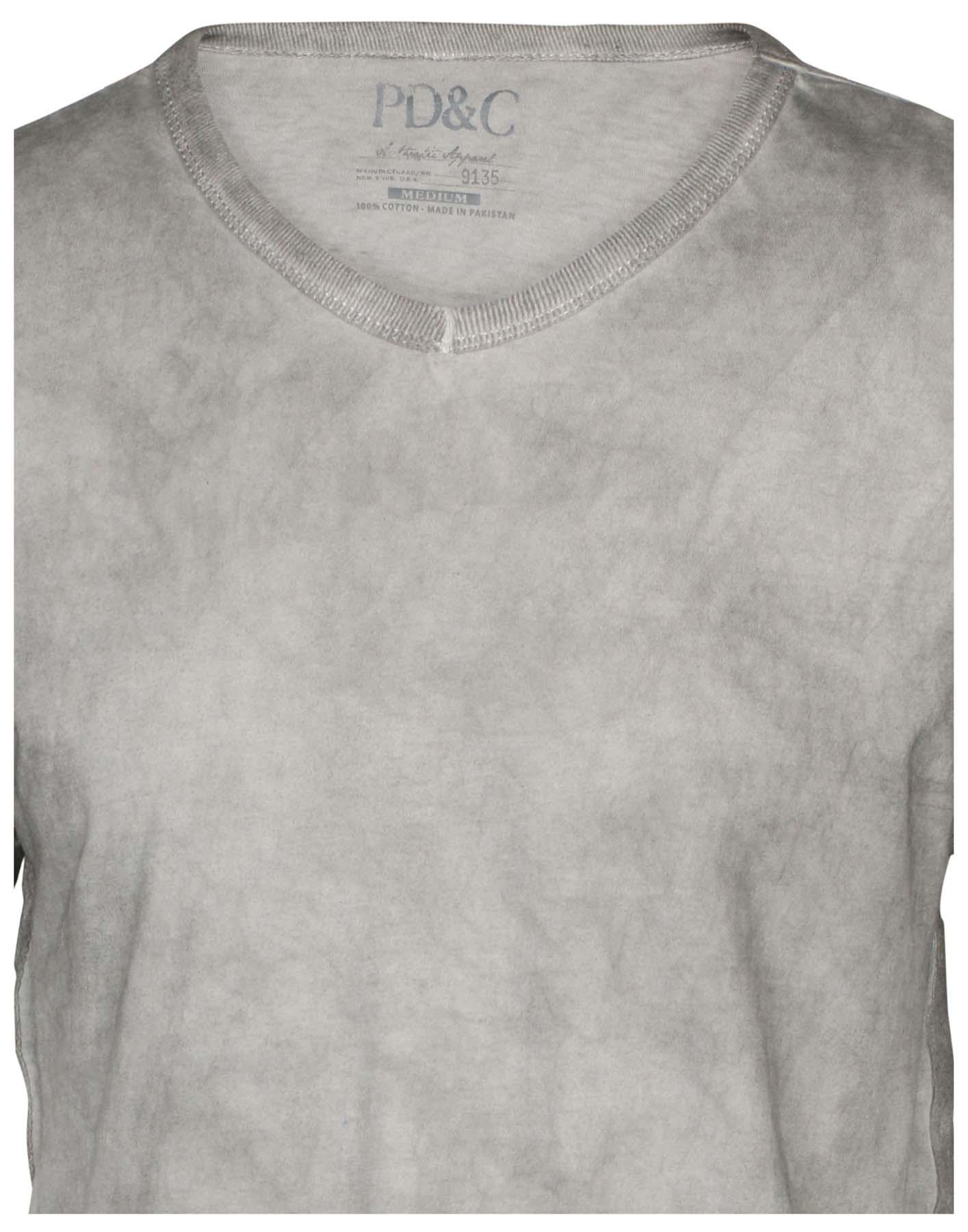5b2aad8b04cb50 PD&C Men's Vintage Wash V-Neck T-Shirt   eBay