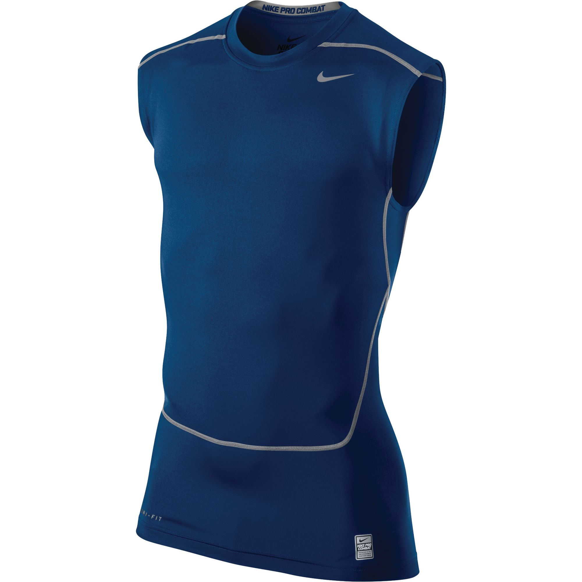 Nike men 39 s core 2 0 sleeveless compression training shirt for Nike men s pro cool sleeveless shirt