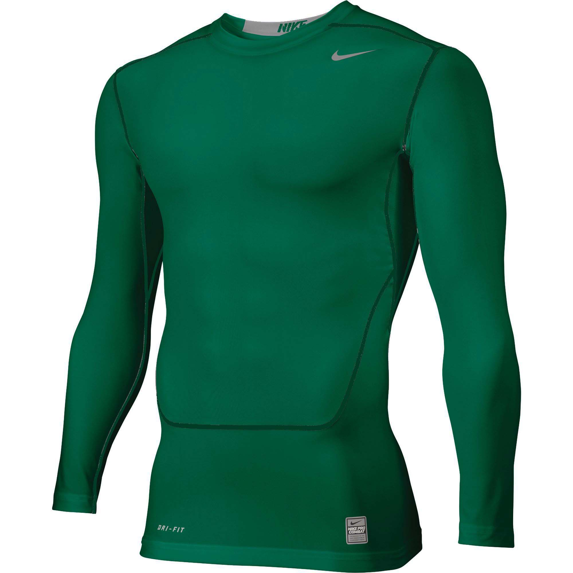 fb354bd4 Nike Men's Pro Combat NPC Core 2.0 LS Compression Top Shirt | eBay