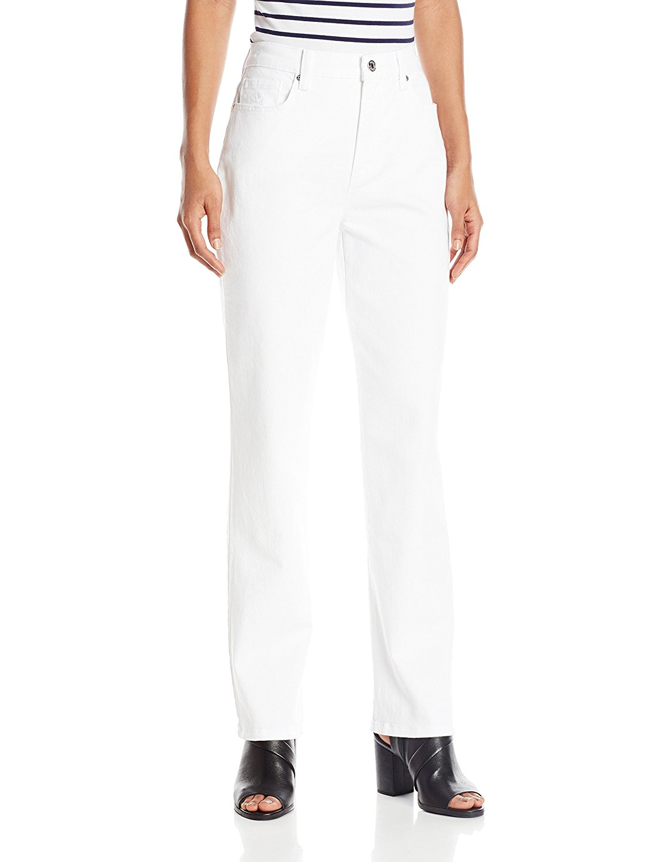 7639f80cba00a Gloria Vanderbilt Women s Plus Size Amanda Classic Tapered Jeans