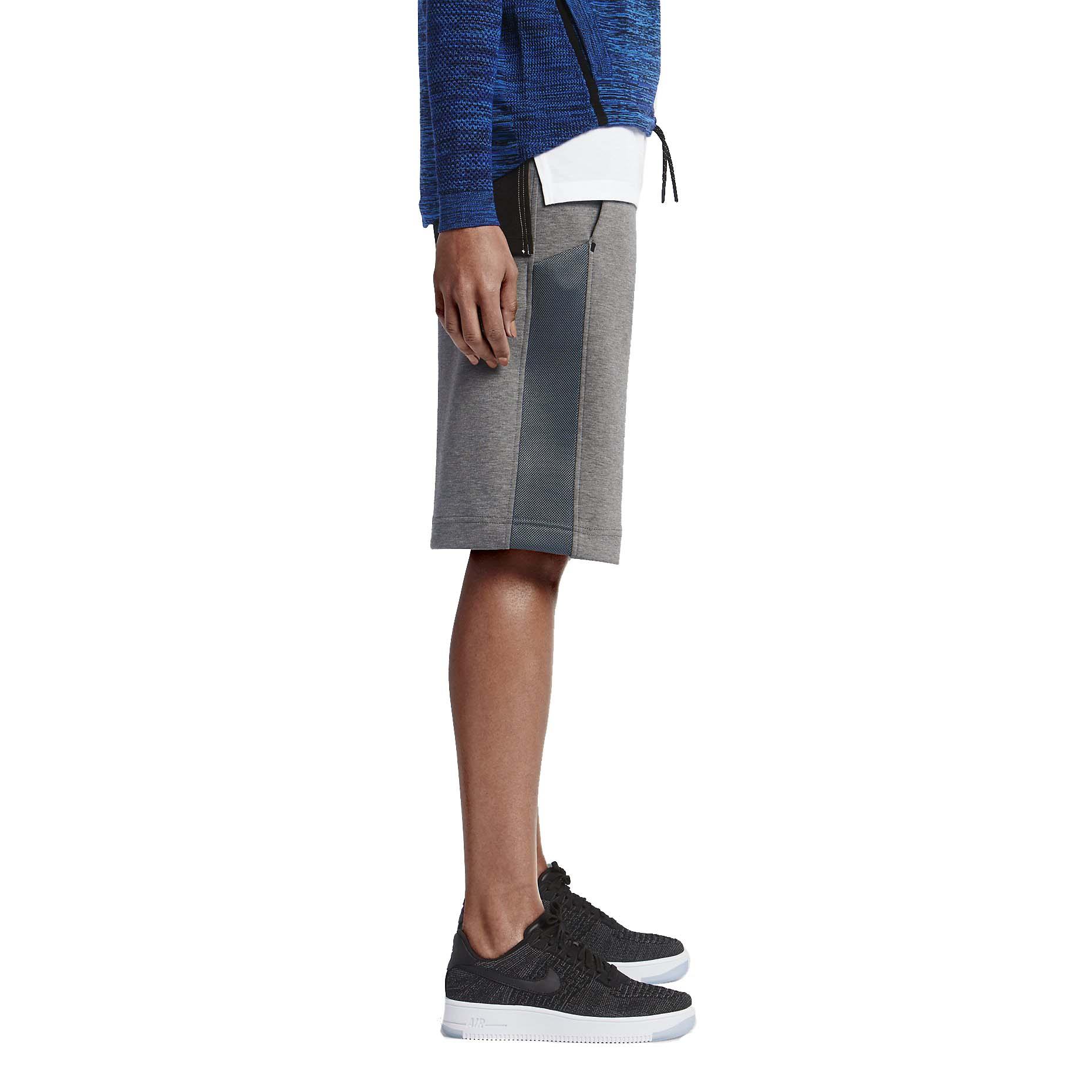 Nike Women's Tech Fleece Mesh Sport Casual Shorts | eBay