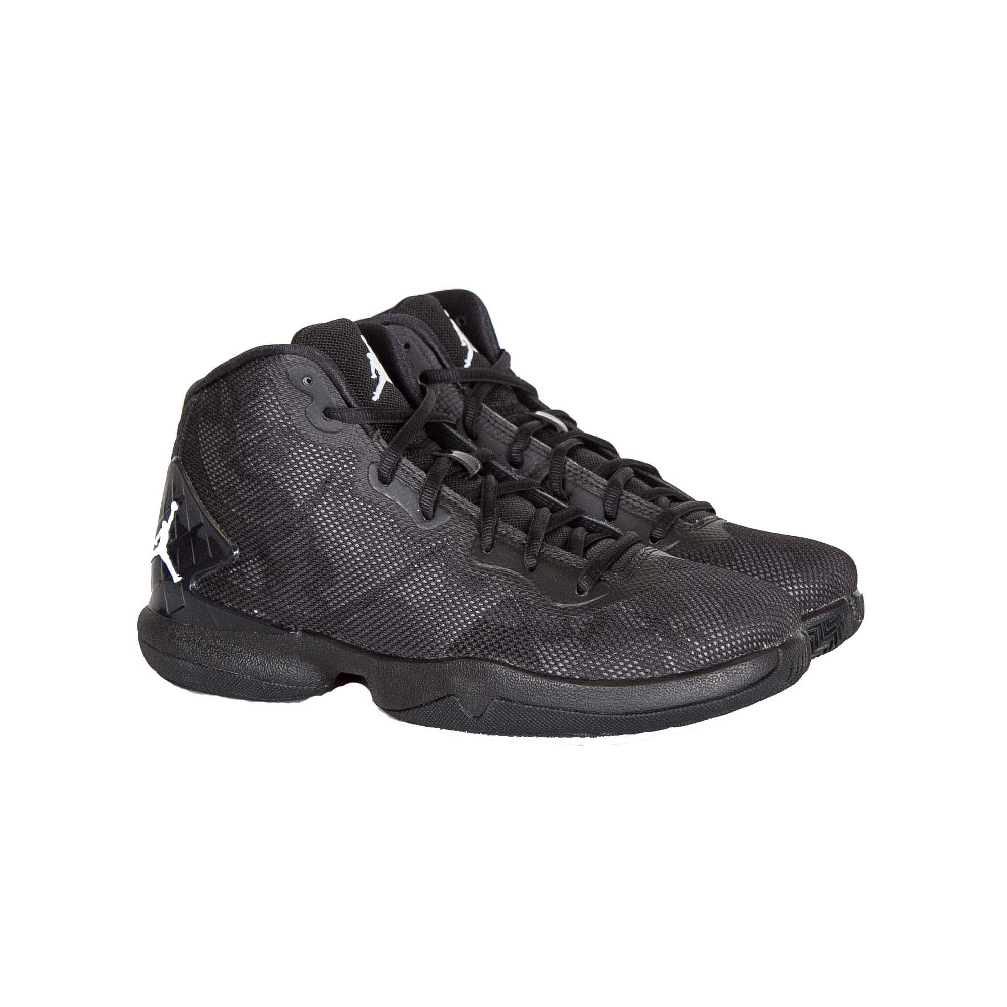 classic fit 3edd5 e5329 Details about Jordan Kids Nike Super Fly 4 Basketball Shoes-Black White Dark  Grey-7