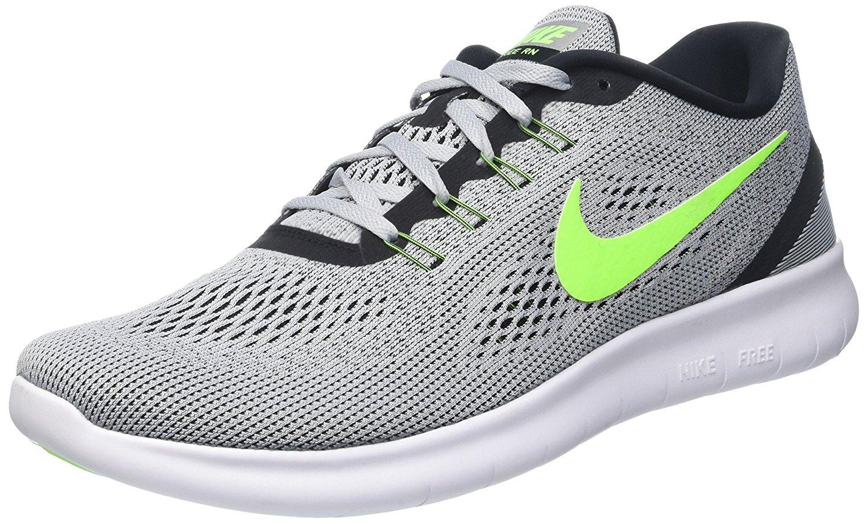 nike rn scarpe da corsa uomini 10 platino / green 831508 003 ebay