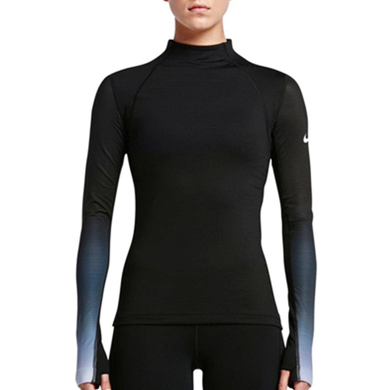 1abbcfd7e Nike Women's Pro Hyperwarm Long Sleeve Training Top   eBay