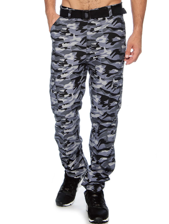 True Rock Men S Camo Cargo Pants 38 Grey Camo 7602 Ebay