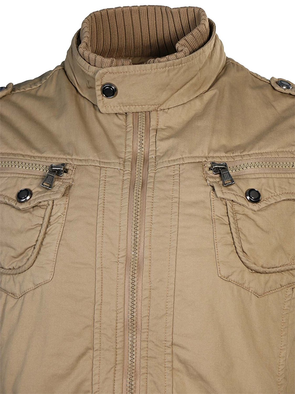 Maximos-Men-039-s-Sherpa-Lined-Sahara-Hooded-Multi-Pocket-Bomber-Jacket