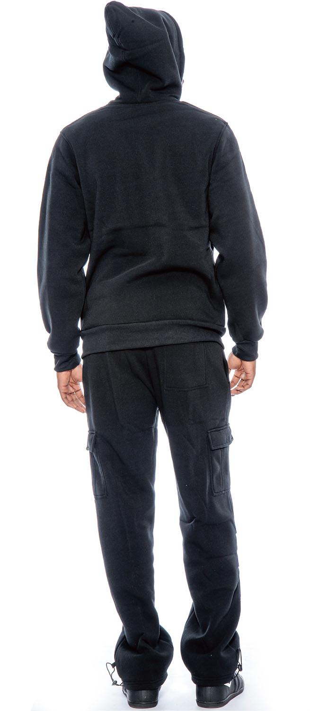 c79eb5562ae66 TR Men's Lightweight Sport Fleece Hoodie Sweatsuit by 9 Crowns Essentials