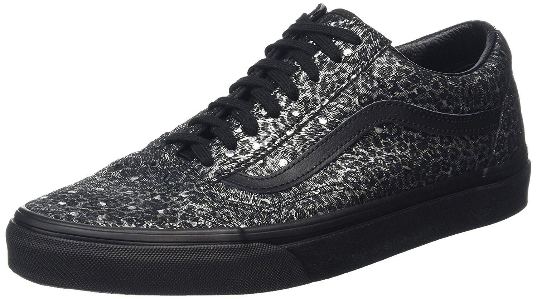 vans old skool metallic leopard skate shoes metallic. Black Bedroom Furniture Sets. Home Design Ideas