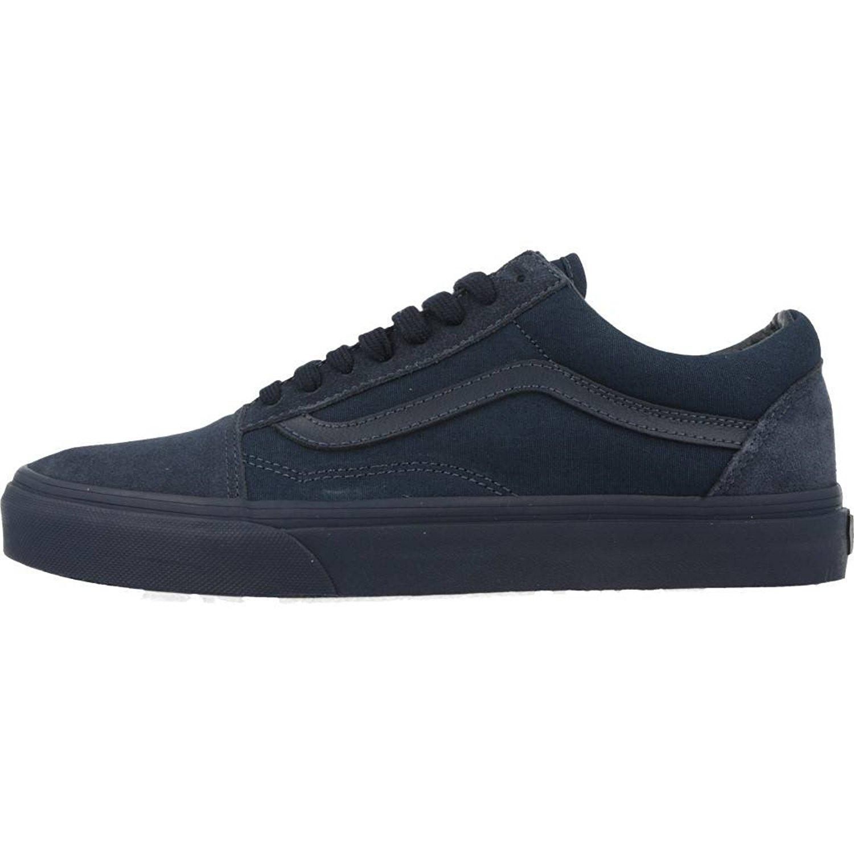 88eb28d86a Details about Vans Unisex Old Skool Mono Skate Shoes-Dress Blues