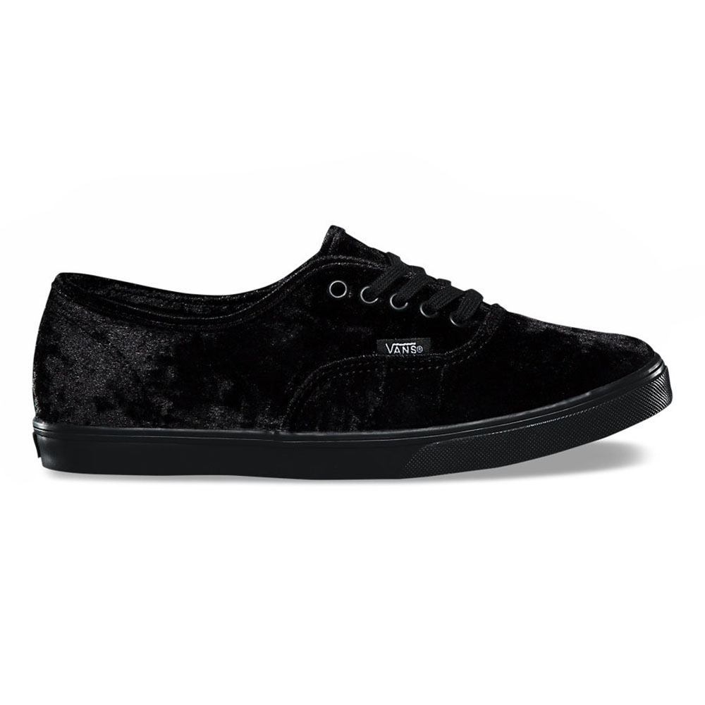 cdbb73f296cb51 Vans Authentic Lo Pro Velvet Skate Shoes-Black Velvet