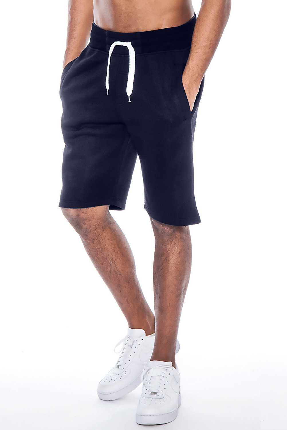 True Rock Men's William Fleece Casual Shorts | eBay