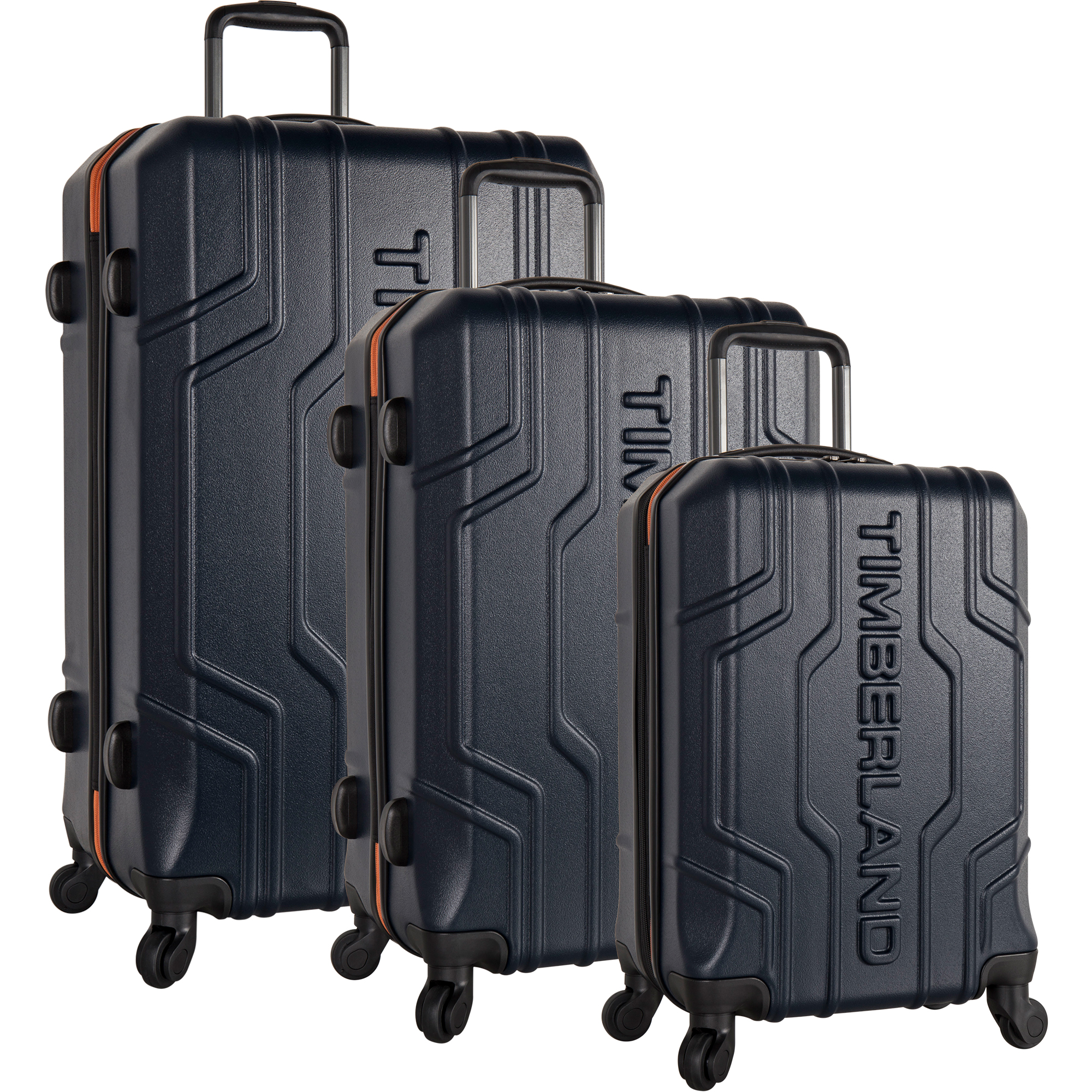 Timberland Alpine Trail 3 Piece Hardside Spinner Luggage Set