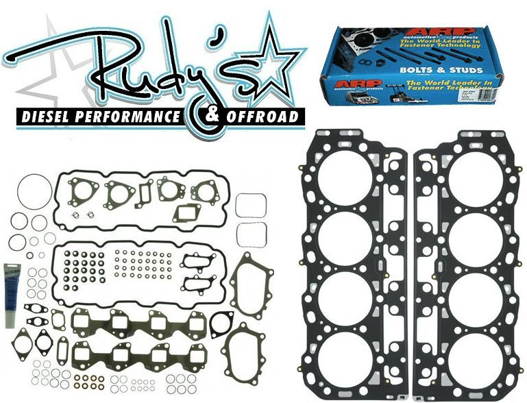 Head Gasket Kit With Arp Head Studs For 2001 2004 Duramax 6 6l Lb7 Gm Ebay