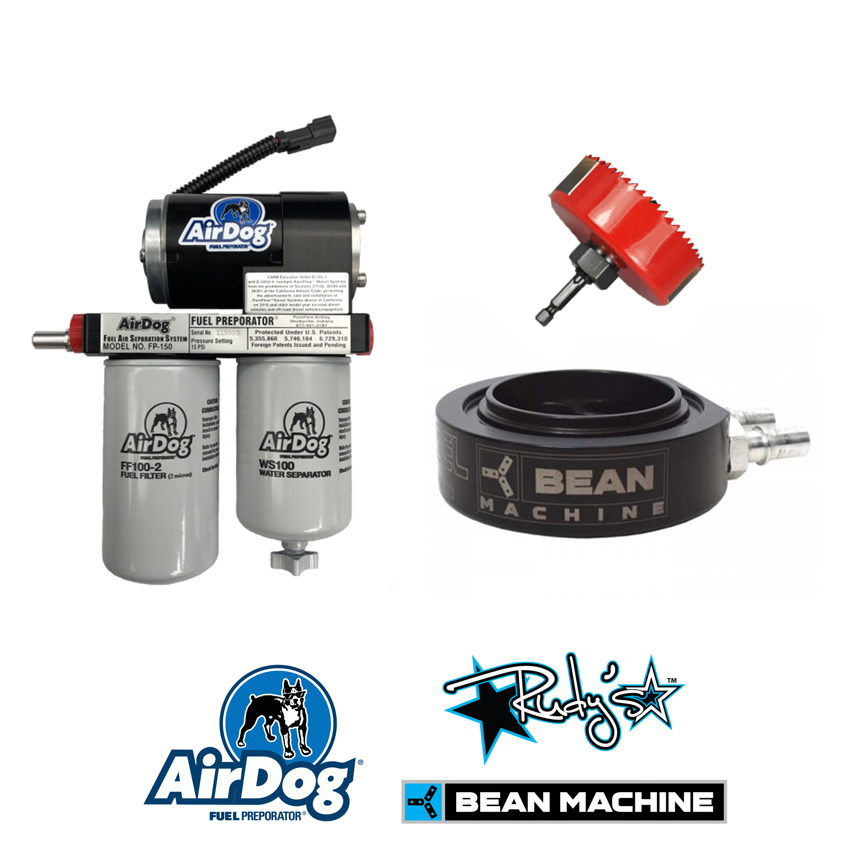 airdog 150 gph fuel lift pump & sump for 94-98 dodge ram 5 9l cummins diesel