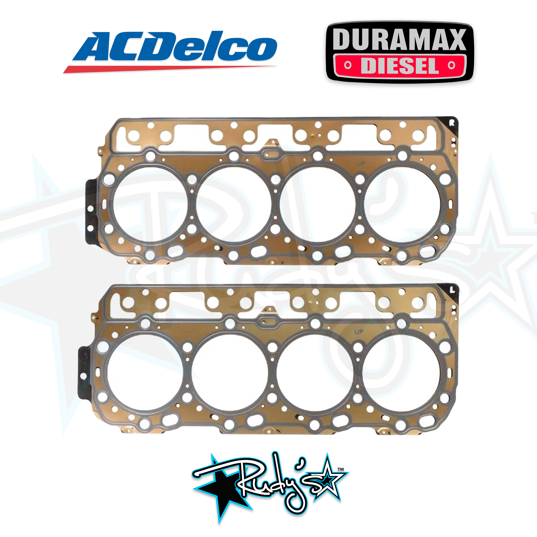 2001-2016 GM Duramax 6.6L OEM Standard Right /& Left Side Head Gaskets 0.95mm MLS