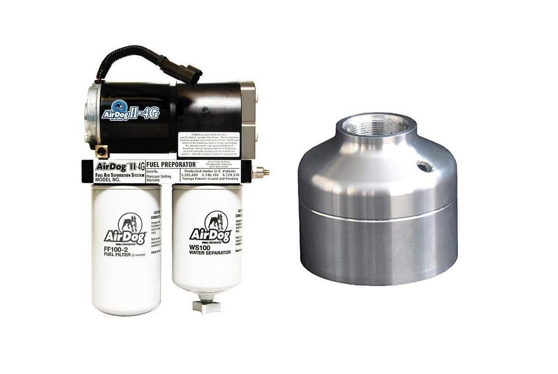 Airdog Ii 4g 165 Gph Fuel Lift Pump Filter Delete 15 16 66 Lml Compact Filters Water Separators Duramax Diesel