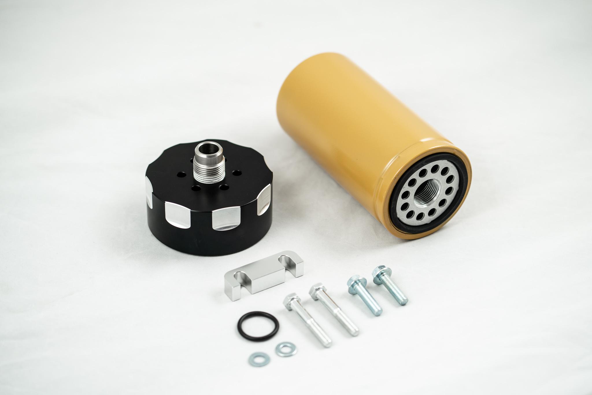 Rdp Cat Fuel Filter Adapter For 01 16 Gm 66l Lb7 Lly Lbz Lmm Lml Duramax Diesel Filters
