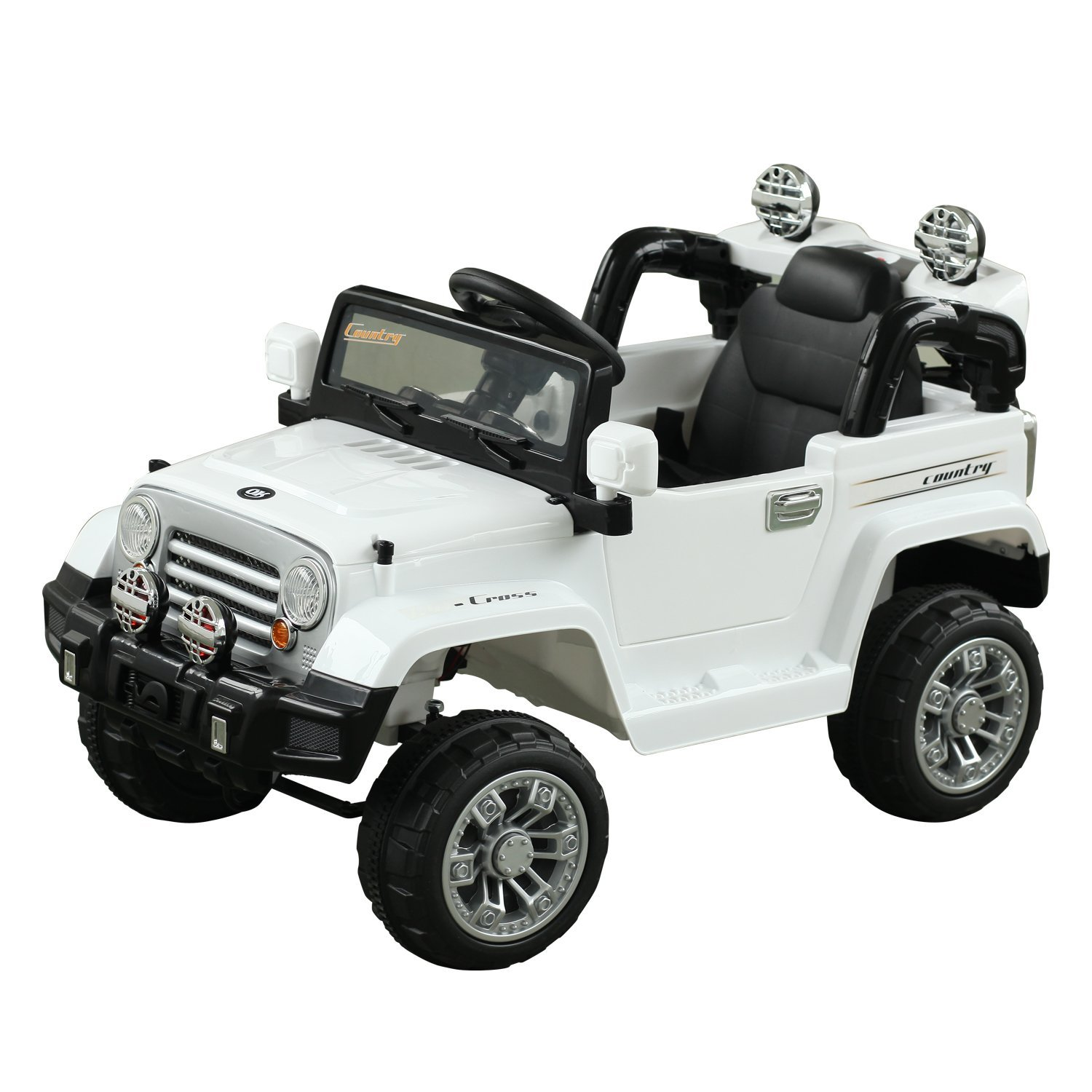 3783cd7a1e1b 12V Battery Powered Kids Ride On Cars Electric Jeep Truck Remote Control