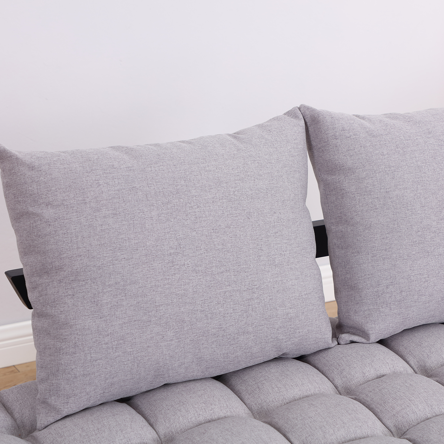 Convertible-Sofa-Bed-Sleeper-Couch-Chaise-Lounge-Chair-Adjustable-Padded-Pillow thumbnail 37