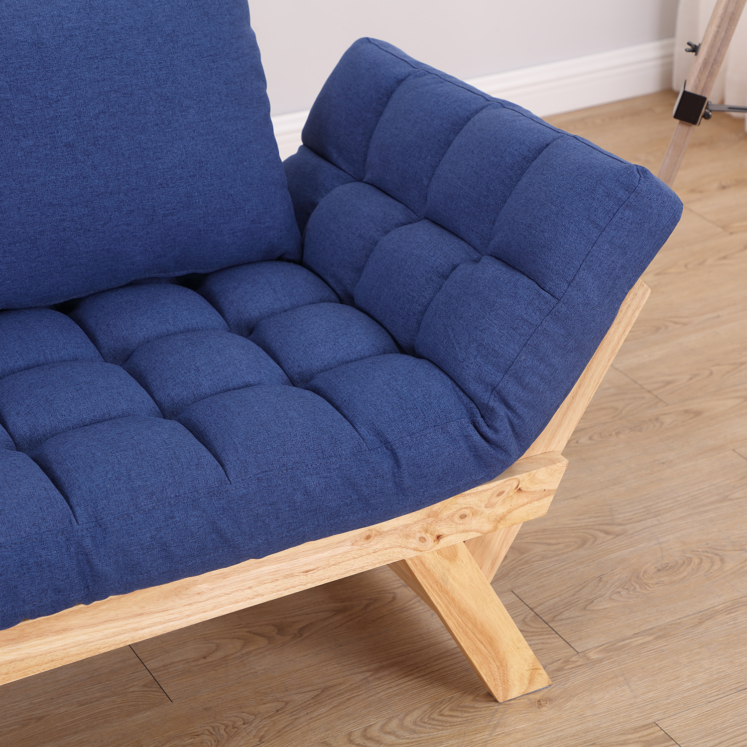 Convertible-Sofa-Bed-Sleeper-Couch-Chaise-Lounge-Chair-Adjustable-Padded-Pillow thumbnail 53