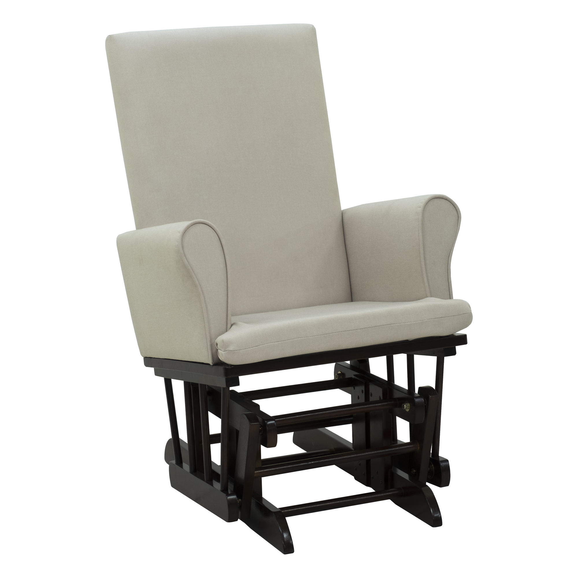 Details About 2PC Baby Nursery Relax Rocker Rocking Chair Glider U0026 Ottoman  Sofa Set