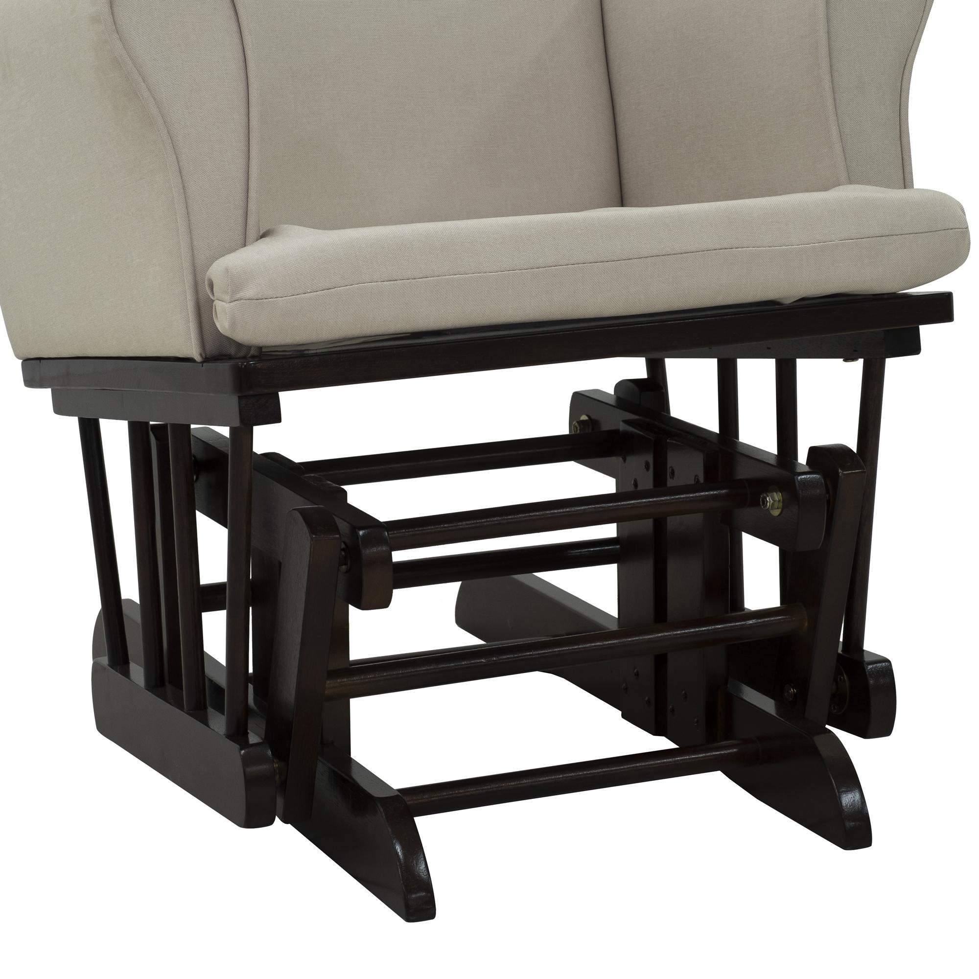 Details About 2PC Baby Nursery Relax Rocker Rocking Chair Glider U0026 Ottoman  Sofa Set