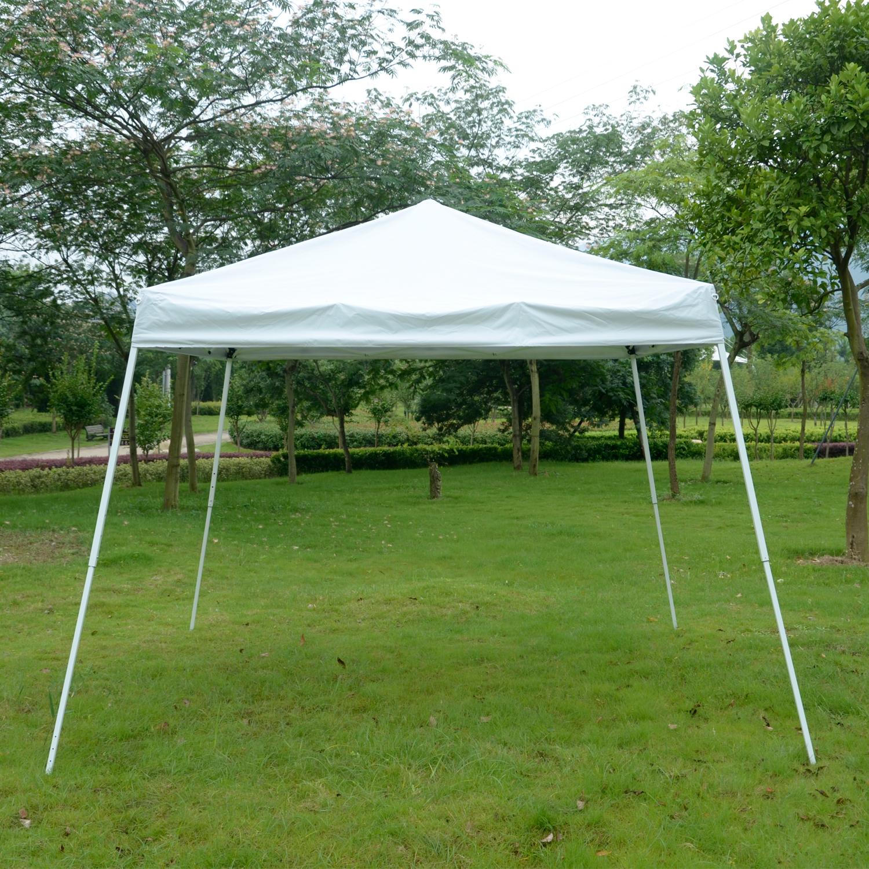 ez pop up canopy wedding party tent outdoor folding patio. Black Bedroom Furniture Sets. Home Design Ideas