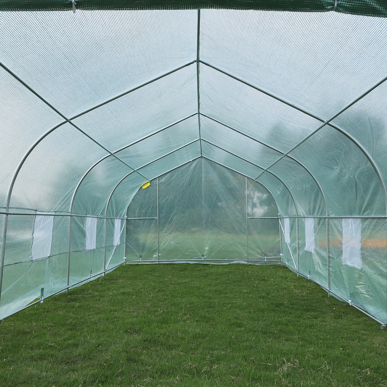 20'x10'x7' Walk-In GREEN HOUSE Plant Gardening Greenhouse Steel Portable Oudoor 10