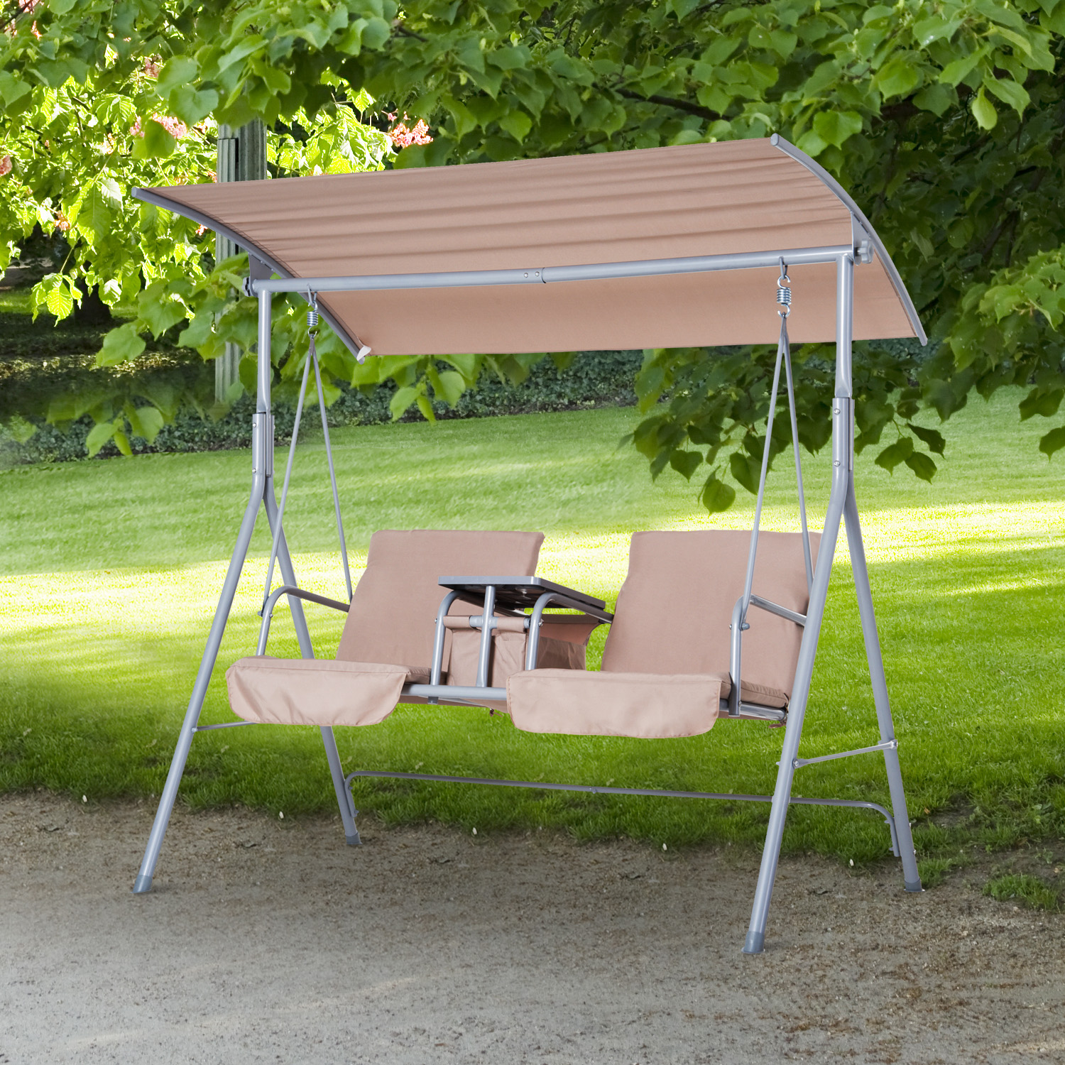 Details about Outdoor Swing Chair Canopy Patio Garden Hanging 2 Person Yard Porch Furniture & Details about Outdoor Swing Chair Canopy Patio Garden Hanging 2 Person Yard Porch Furniture