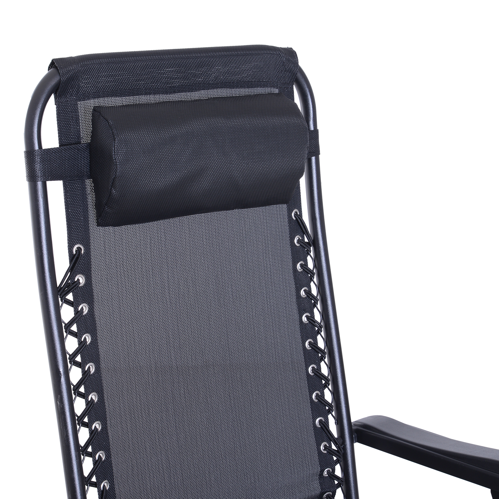 Zero Gravity Recliner Lounge Chair Patio Rocker Home