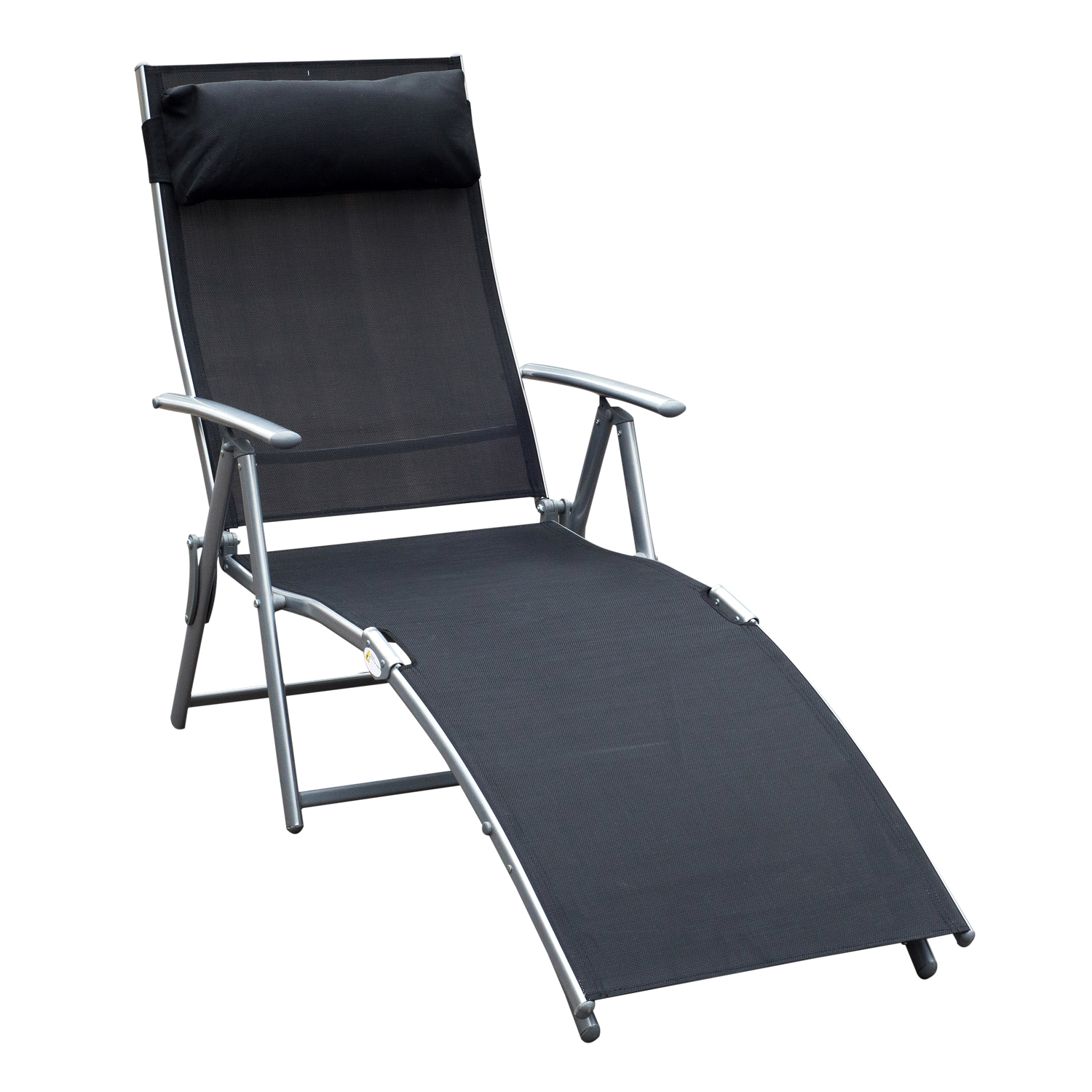 High Quality Chaise Lounge Chair Folding Pool Beach Yard Adjustable
