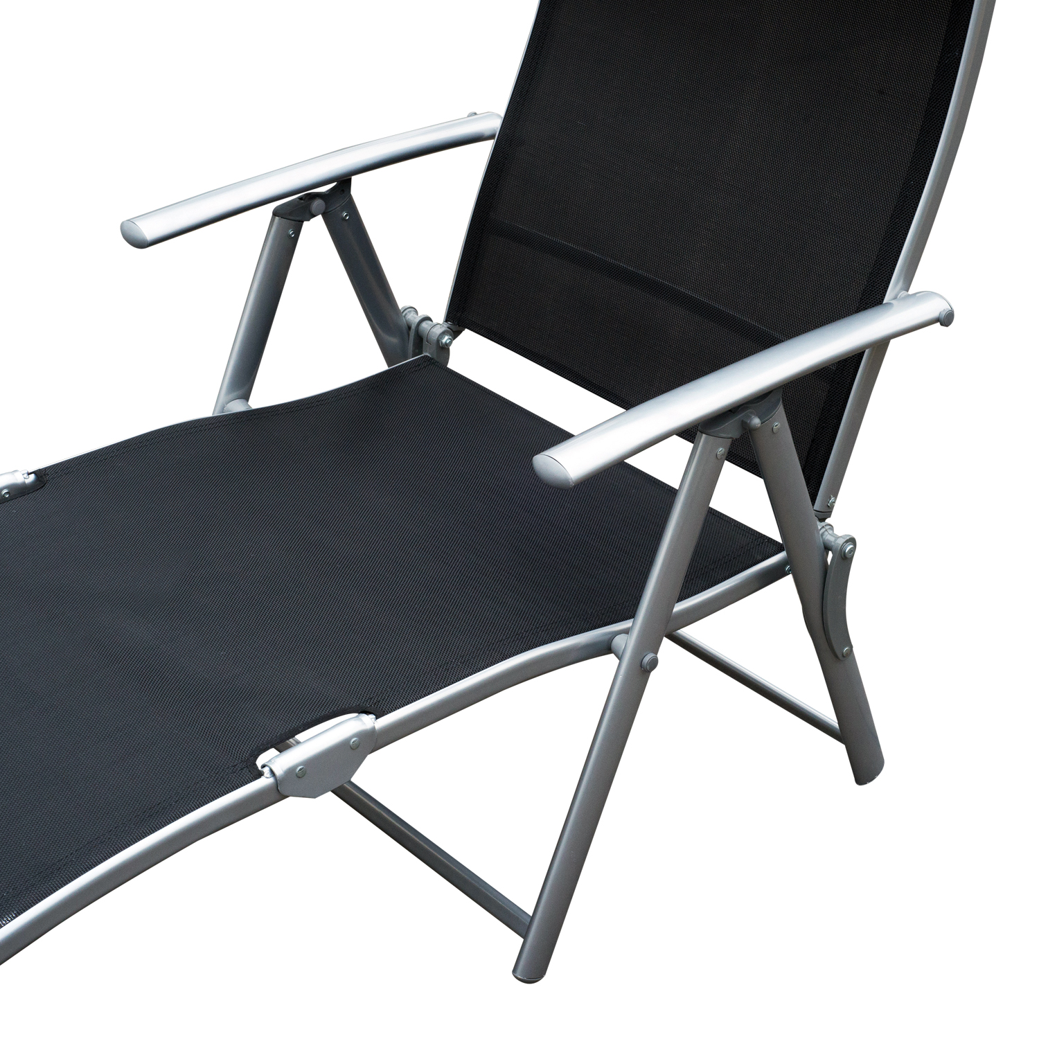 chaise lounge chair folding pool beach yard adjustable patio furniture recliner ebay. Black Bedroom Furniture Sets. Home Design Ideas