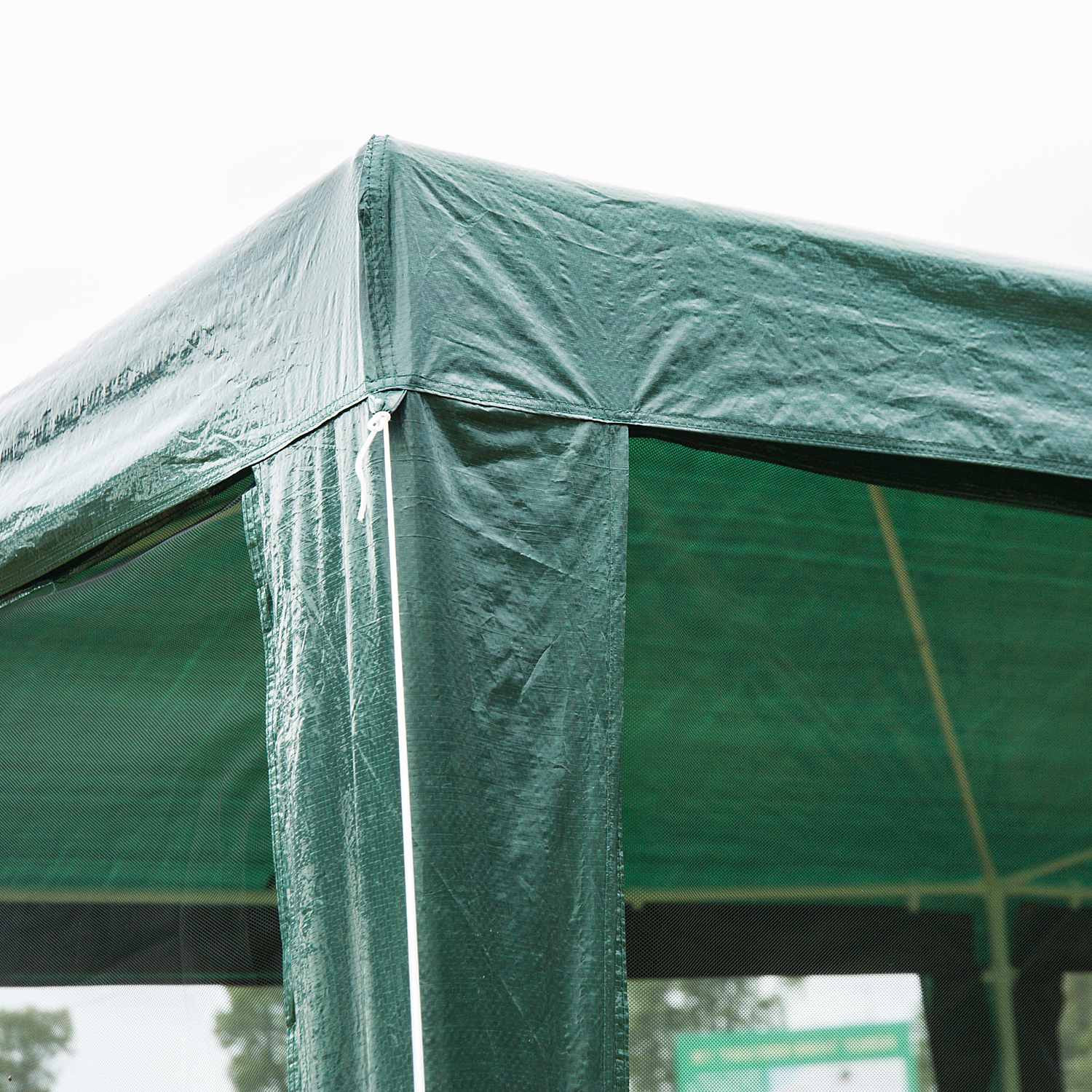 10-039-x-20-039-Gazebo-Canopy-Cover-Tent-Patio-Party-w-Removable-Mesh-Side-Walls thumbnail 8