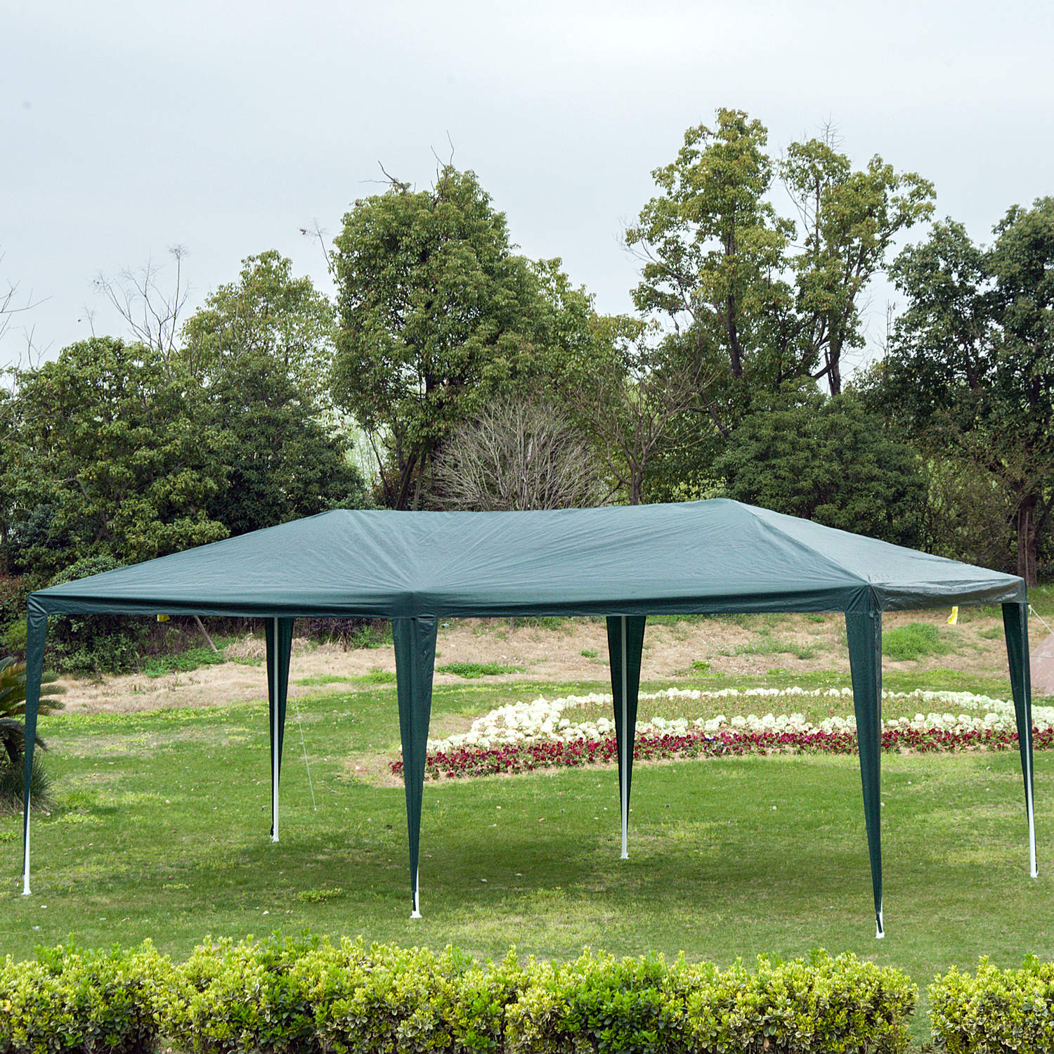 10-039-x-20-039-Gazebo-Canopy-Cover-Tent-Patio-Party-w-Removable-Mesh-Side-Walls thumbnail 7