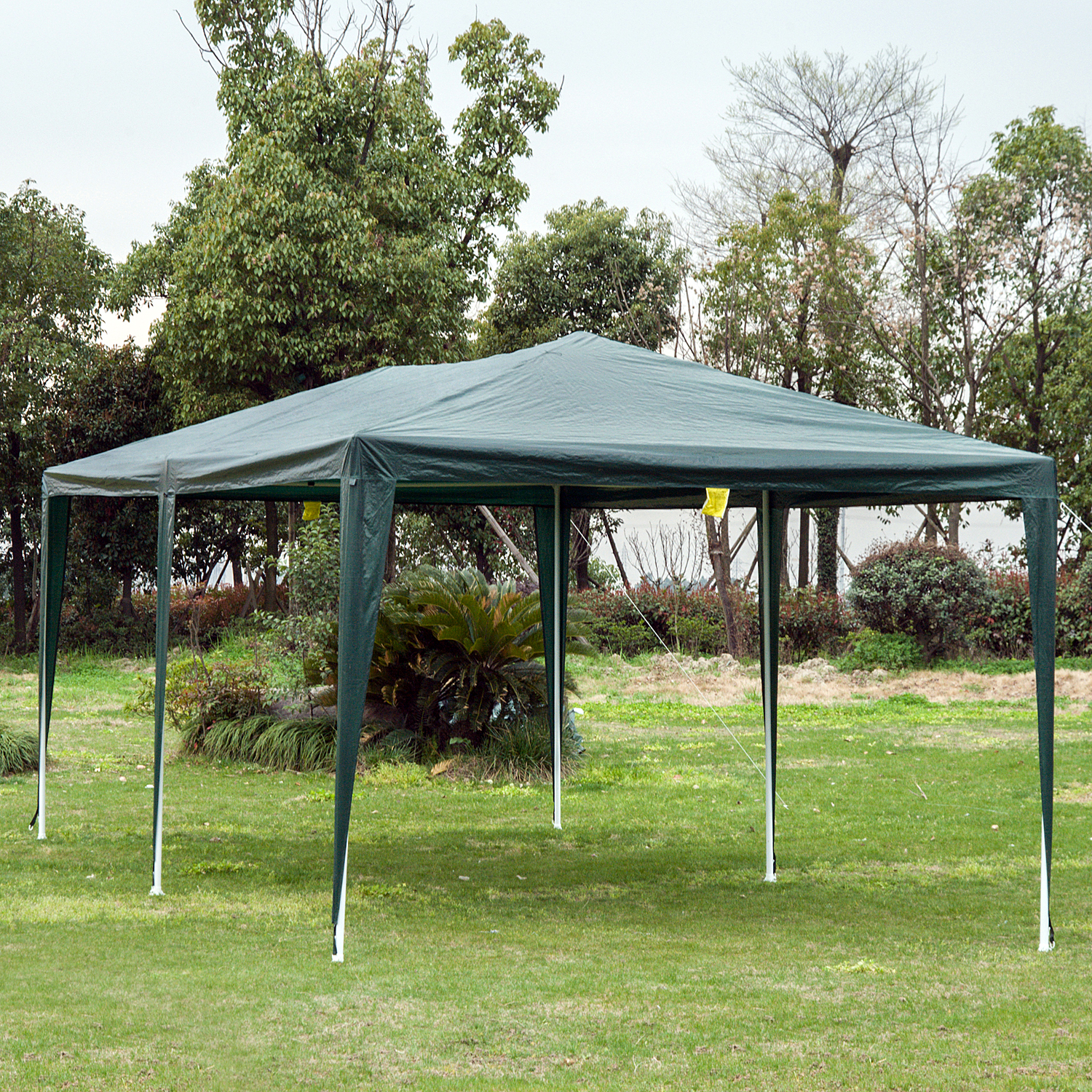 10-039-x-20-039-Gazebo-Canopy-Cover-Tent-Patio-Party-w-Removable-Mesh-Side-Walls thumbnail 6