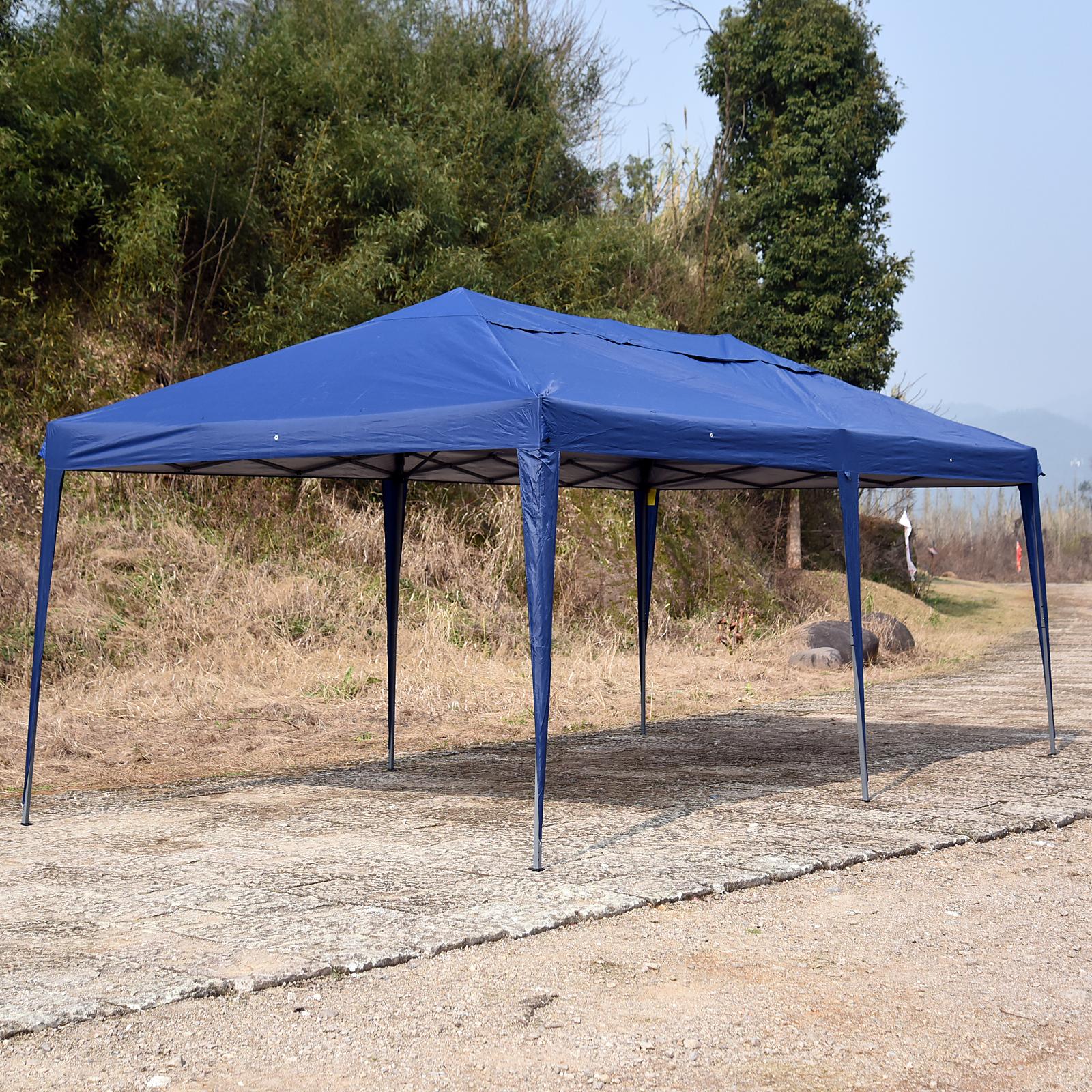 Outdoor-10-039-x20-039-EZ-POP-UP-Gazebo-Wedding-Party-Tent-Canopy-Folding-w-Carry-Bag thumbnail 5