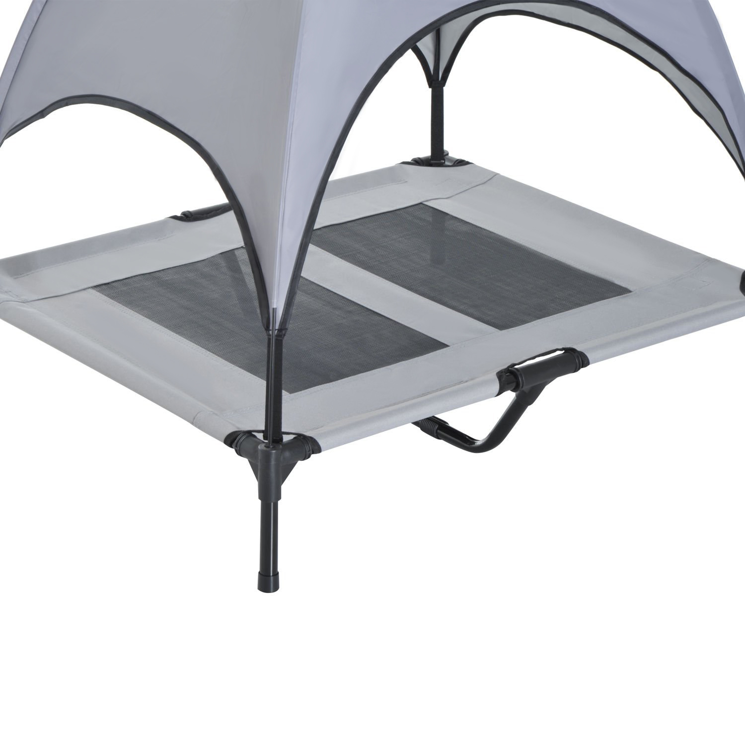 PawHut-Elevated-Pet-Bed-Dog-Foldable-Cot-Tent-Canopy-Instant-Shelter-Outdoor thumbnail 17