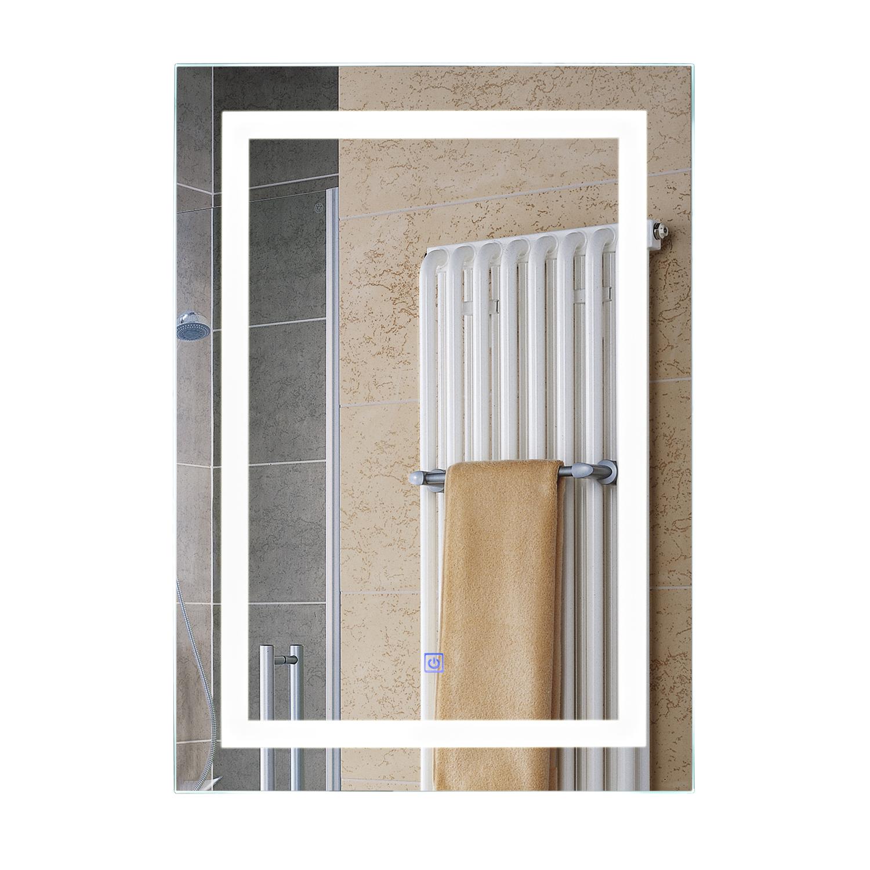 Illuminated led bathroom vanity mirrors with lights modern - Illuminated wall mirrors for bathroom ...